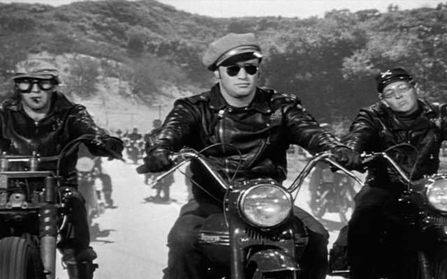 Marlon Brando and his gabmotor-bikes-from-the-movie-the-wild-one