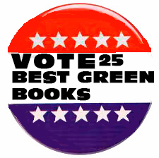 vote button says vote for the 25 best green books